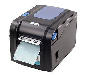 QWERTOUY Impresora de Etiquetas de código de Barras Termal ...