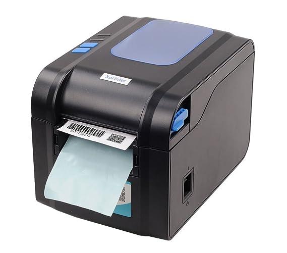 ZUZU Impresora de códigos de Barras de Etiquetas Impresora ...