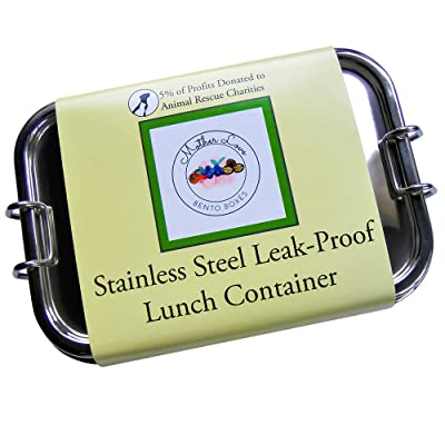 Stainless Steel Leak-Proof Lunch Container: Kitchen & Dining