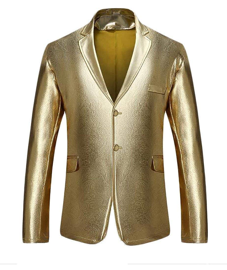 985a22d14 gold SELX-Men Metallic Metallic Metallic Glossy Slim Performance ...