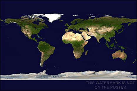 World Satellite Map - 24\