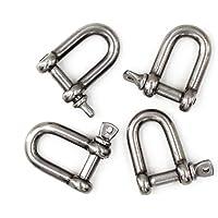 M8 Grilletes de acero inoxidable 304 D ring