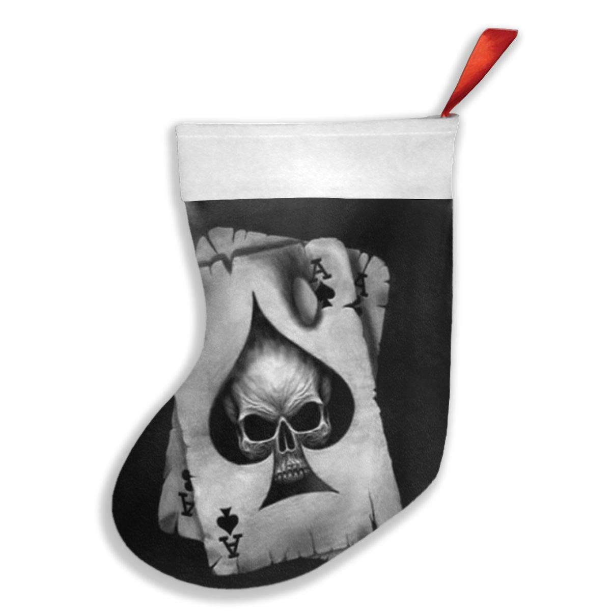 PO1 UP Monster Skull Stylish Christmas Holiday Stockings
