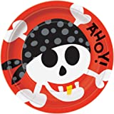 Pirate Party Dinner Plates, 8ct