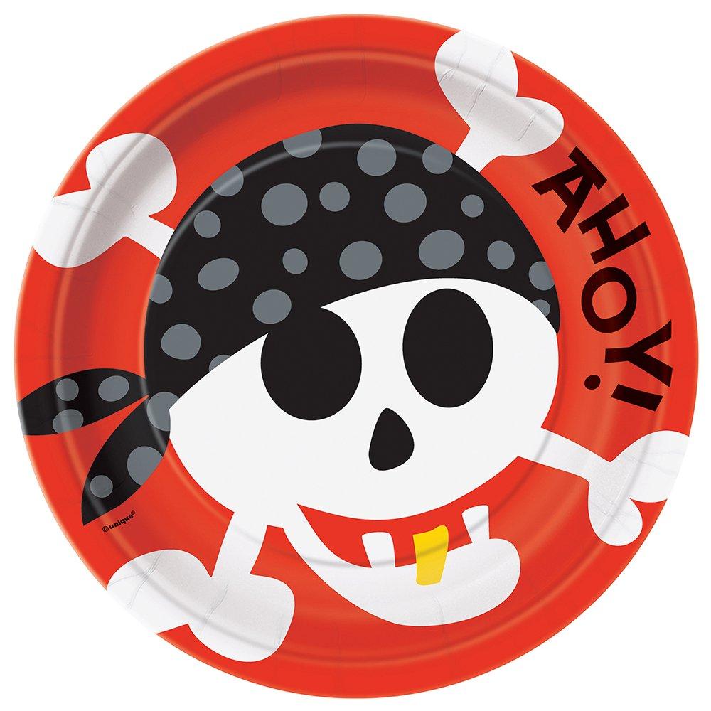 Unique Party 40503 Buste Regalo Dei Pirati Confezione di 8