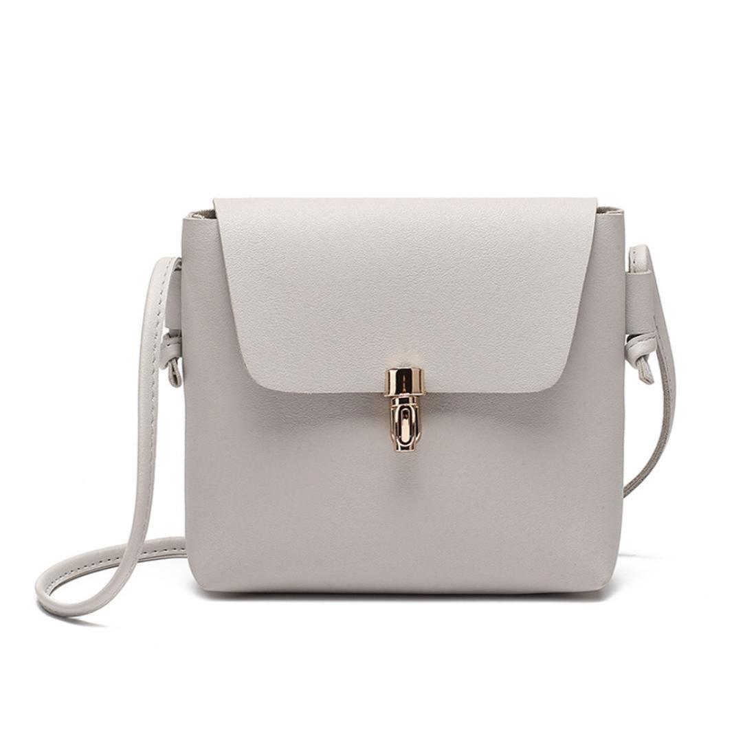 Amazon.com: FDelinK Fashion Cover Hasp Crossbody Bag Messenger Bag Girls Purse &Handbags Women Bag (Black): Clothing