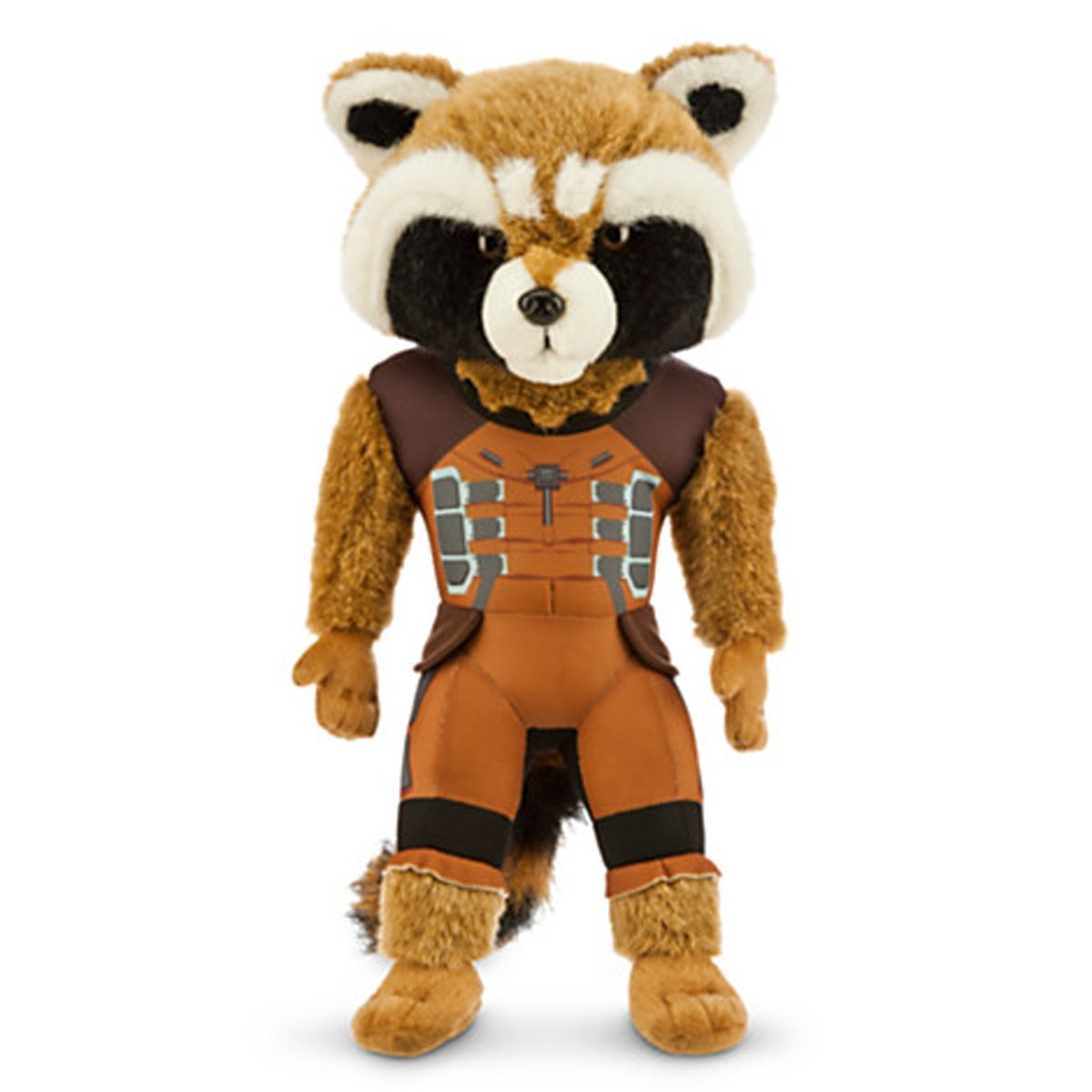 Marvel Guardians Of The Galaxy Rocket Raccoon Plush Super Deluxe Vinyl Figure Toys Games