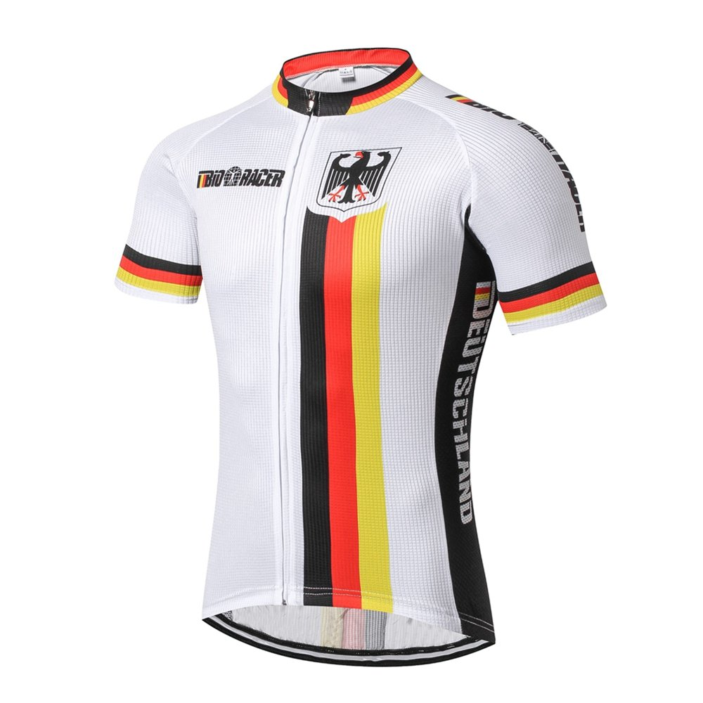 Amazon.com  Weimostar Cycling Jersey Men s Short Sleeve Bike Shirt Top   Clothing aaaa46c99