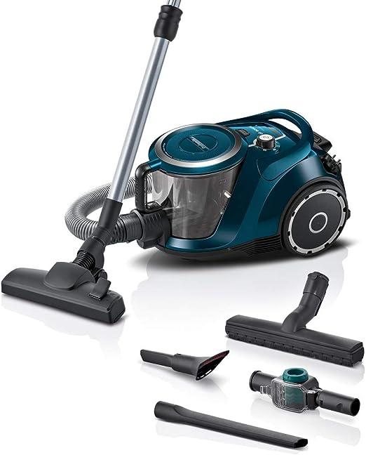 Bosch ProFamily Serie|6 Aspirador sin Bolsa, 71 Decibeles, Azul ...
