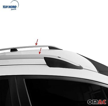 Omac Aluminium Grau Dachreling Dachgepäckträger Für Xv 2012 2020 Relingträger Gepäckträger Mit TÜv Abe Fahrzeugspezifisch Auto