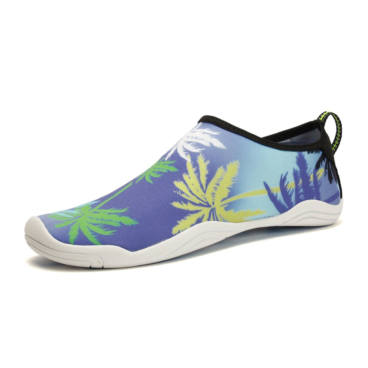 CJZHE Couple Swimming Wading Non-Slip Shoes Casual Fashion Stretch Lightweight Beach Shoes (11 B (M) US, Purple)