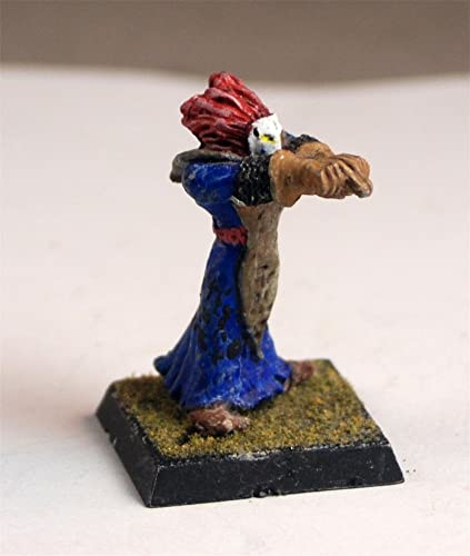 Amazon com: Painted lead male evil wizard miniature (mini) for
