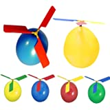 Cheap4uk Balloon Helicopter Indoor Outdoor Toy Party Bag Filler Pack of 8