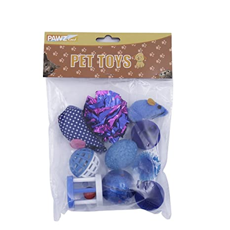 HHF Pet Supplies Juguetes para Gatos 9 en 1 Animal de ...