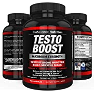 TESTOBOOST Test Booster Supplement | Potent & Natural...
