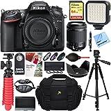 Nikon D7200 24.2MP DX-Format Digital SLR Camera + Tamron 18-200mm Di II VC Lens Accessory Bundle
