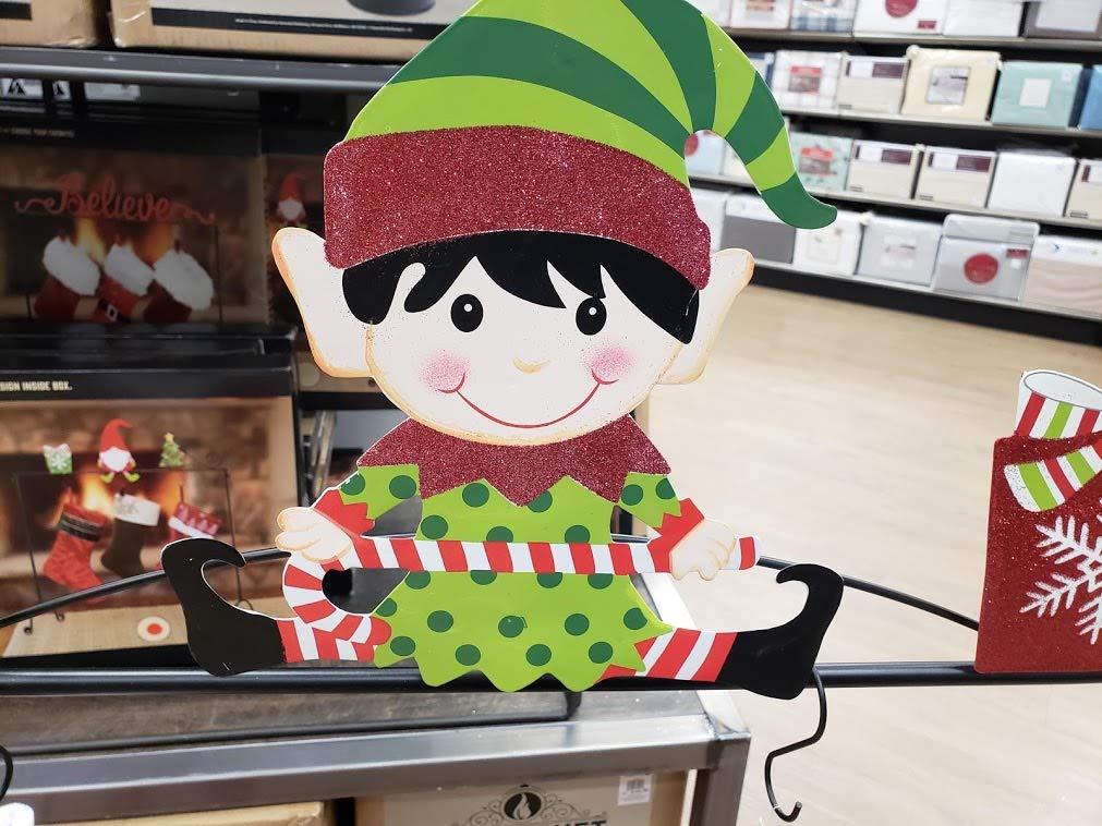 NTD Elf Christmas Stocking Holder Stand