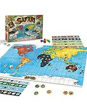 JUEGACONMIGO Safari, het spel van de dieren. Werelddieren leren en strategie bordspel.