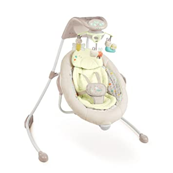 Amazon Ingenuity Inlighten Cradling Swing Seneca Baby