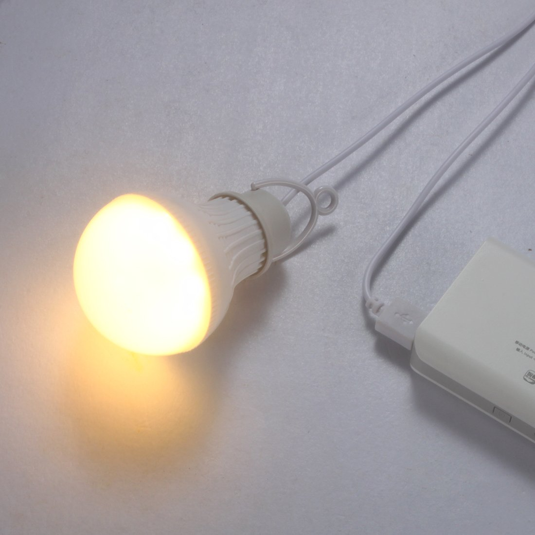 Linght 7W Usb Powered Led Bulb Night Light With Dimmable Switch For Home Read.. 8