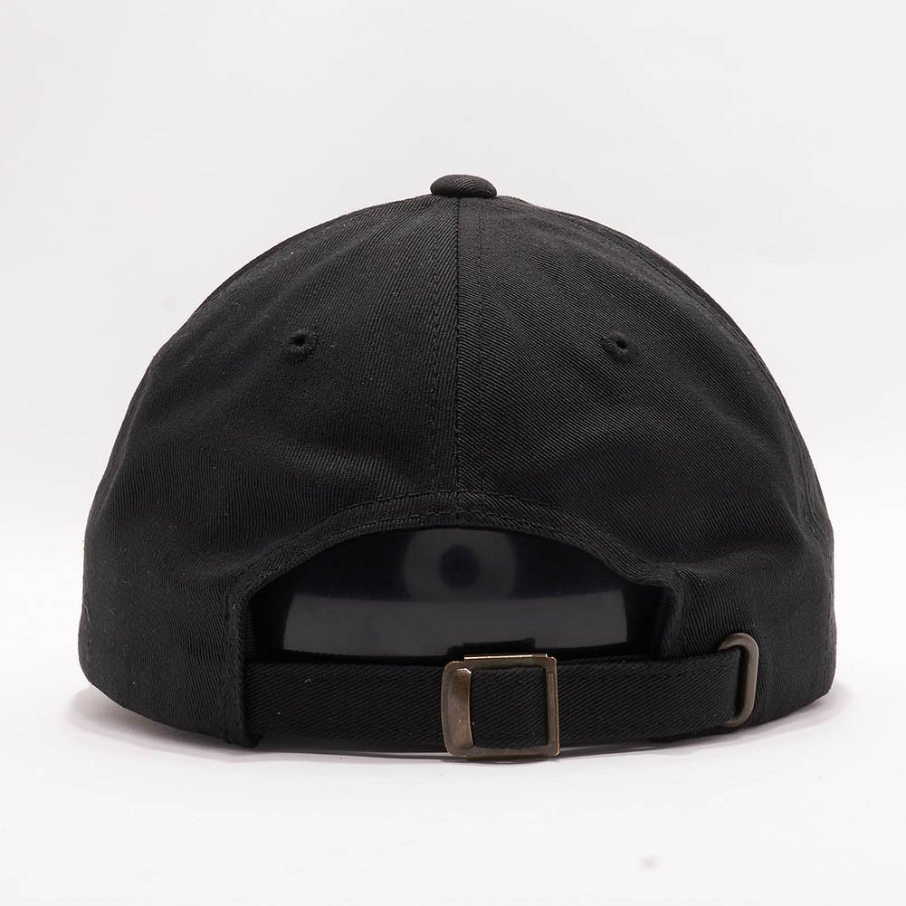 ebc8061cb04 Acorn Yupoong Classic 6245CM Unstructured Cotton Twill Dad Hats Low Profile  Baseball Caps (Black) at Amazon Men s Clothing store