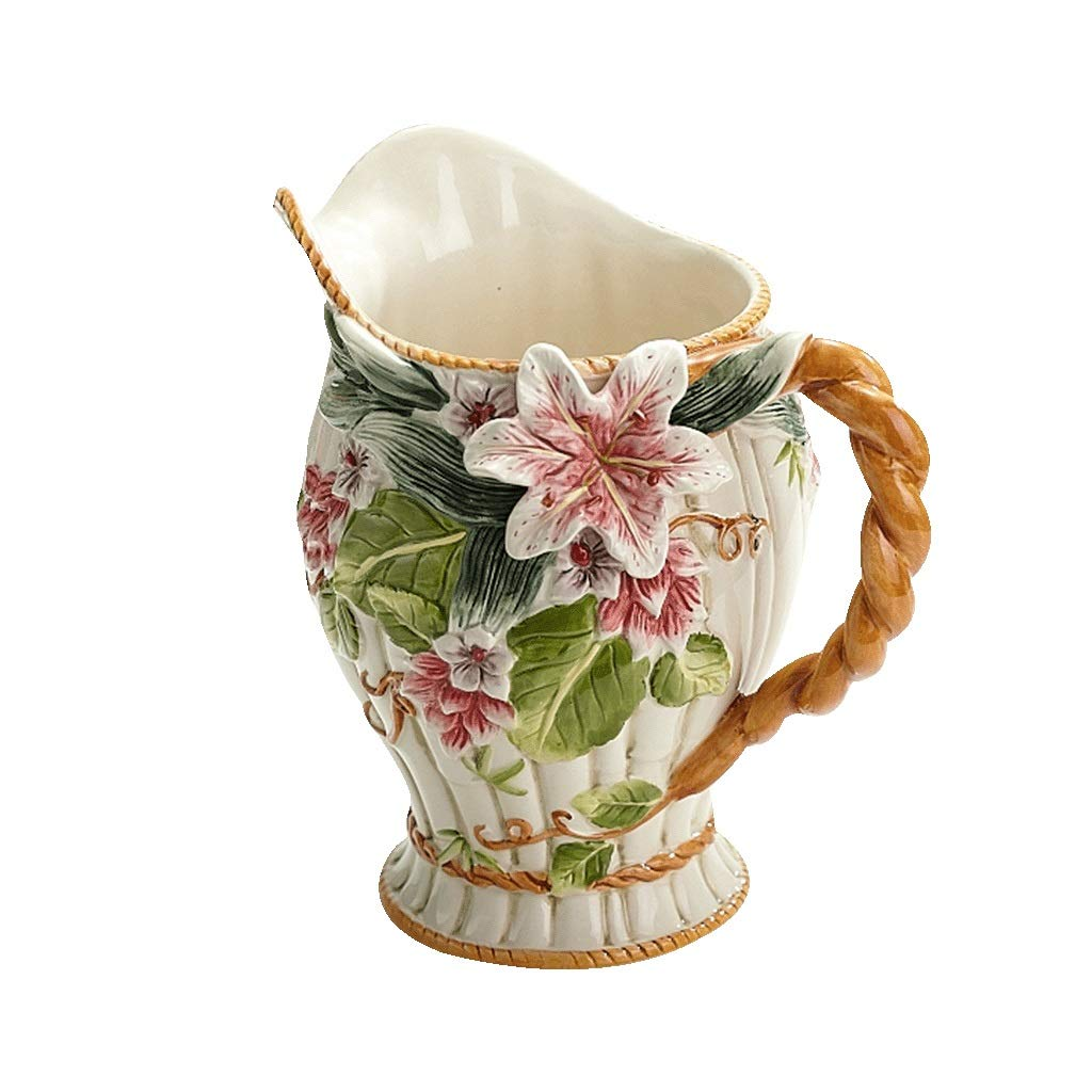 陶器の花瓶ホームデコレーション花瓶 anQna B07S8NBGVP