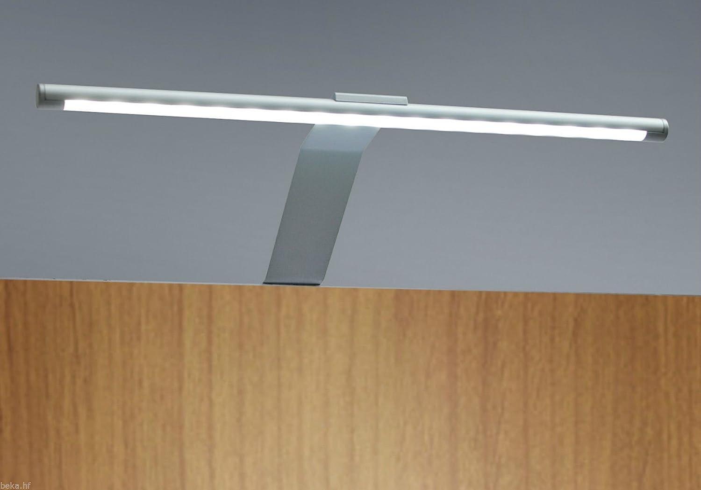 LED Kleiderschrankleuchte Aufbauleuchte Schrankbeleuchtung Regalbeleuchtung, Lichtfarbe:warmweiß, Setgröße:4er SET, Schalter:mit Fußschalter 2er Set Neutralweiß
