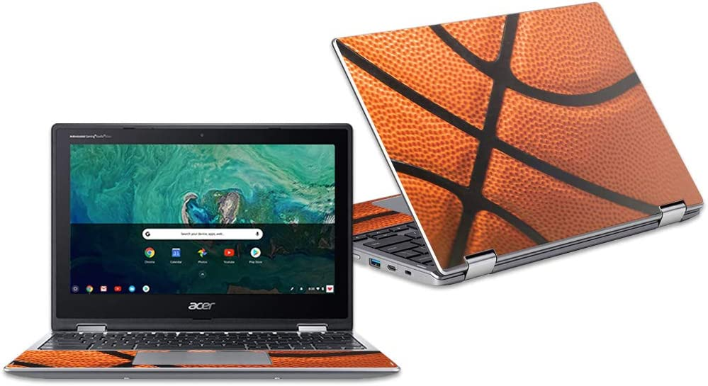 """MightySkins Skin Compatible with Acer Chromebook Spin 11"""" CP311 - Basketball 