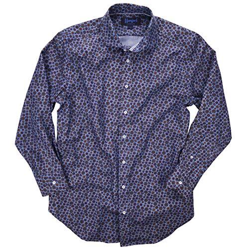(Haspel Long Sleeve Shirt - Carroll Denim Medallion)