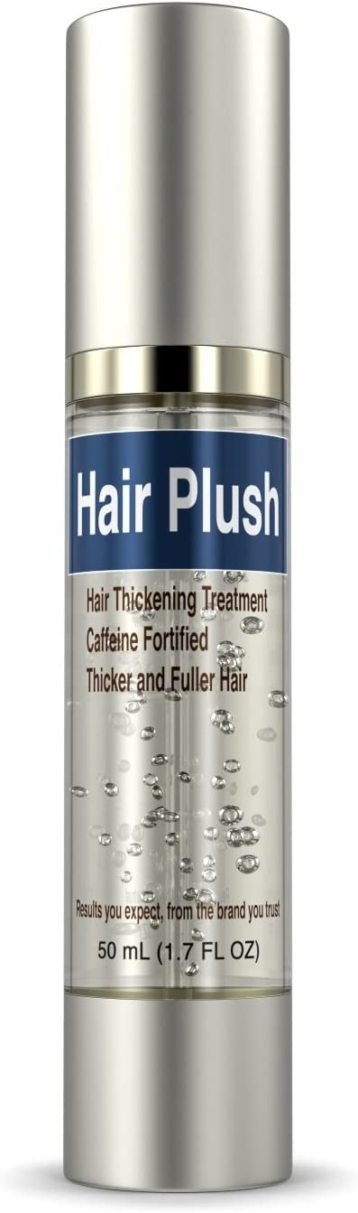 Ultrax Labs Hair Plush | Lush Caffeine Hair Loss Hair Growth Thickening Treatment Formula Serum: Health & Personal Care