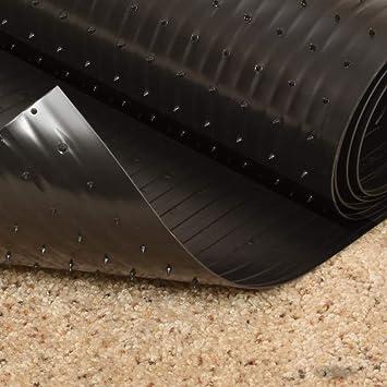 Amazon Com Resilia Black Plastic Carpet Runner Protector