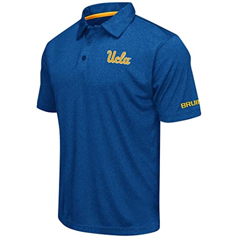 Para hombre UCLA Bruins polo de manga corta para mujer, Large ...