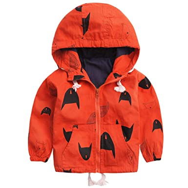 0a6c3874d ARAUS Baby Boy Fur Lining Jacket Hooded Printed Autumn Winter Trench ...