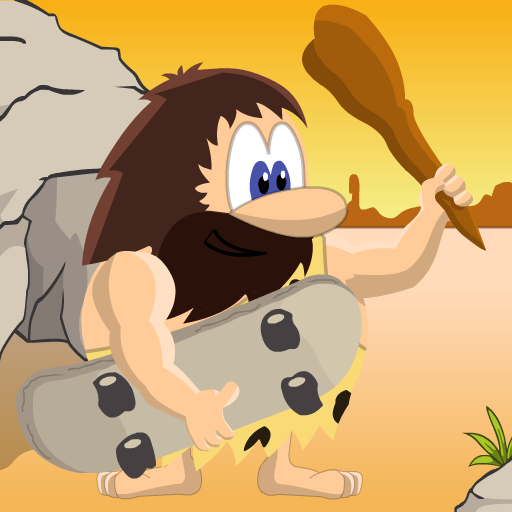 Prehistoric Caveman Skater -