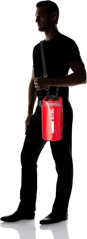 2,5 litri Seac Dry Bag Bolsa Estanca Impermeable Rojo Unisex Adulto
