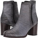 FRYE Women's Addie Double Zip Boot, Pewter Cut Metallic, 9 M US