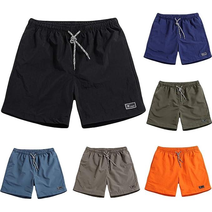 design professionale alta qualità autentica di fabbrica Uomo Pantaloncini Mare Running Uomo Drawstring Shorts Uomo ...