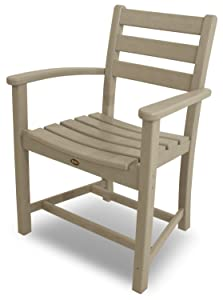 Trex Outdoor Furniture Monterey Bay Dining Sand Castle Arm Chair