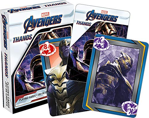 Aquarius Marvel Thanos Avengers Endgame Movie Playing Cards]()