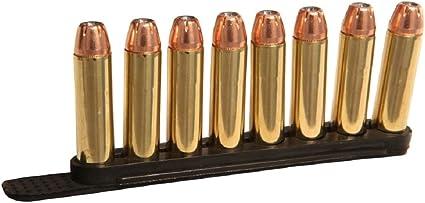 Tuff 30-30 410 shotgun 44 45 Speed Quick Strip Revolver Loader 5rd 2 Pack BLACK