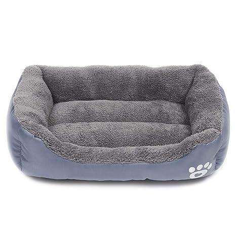 zhenghewyh Cama para Perros Gato Cesta Mascotas Pequeña Medio Grande Lavable (L:66 *