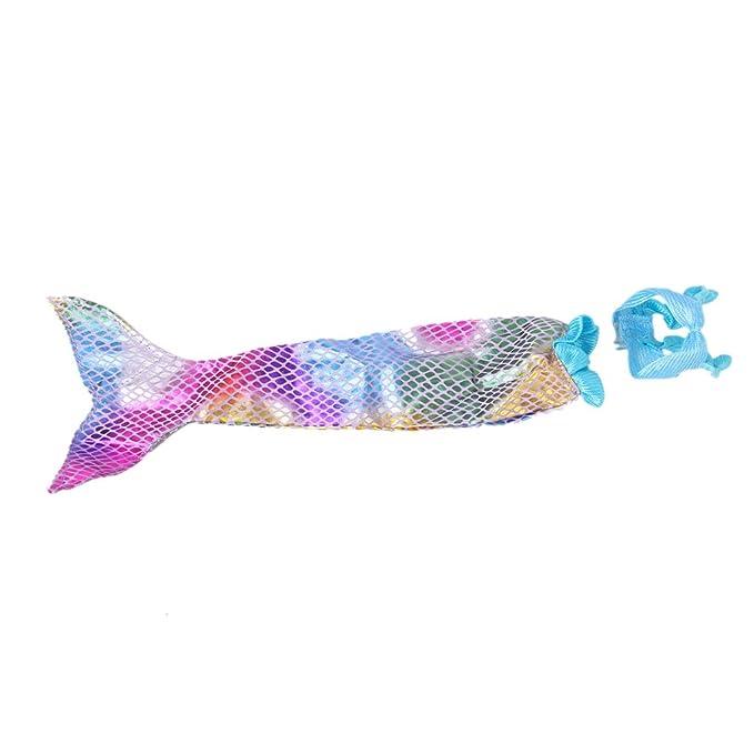 Vestido Traje de Sirena Sujetador Cola Accesorio para Muñecas de Barbie Multicolor: Amazon.es: Ropa y accesorios