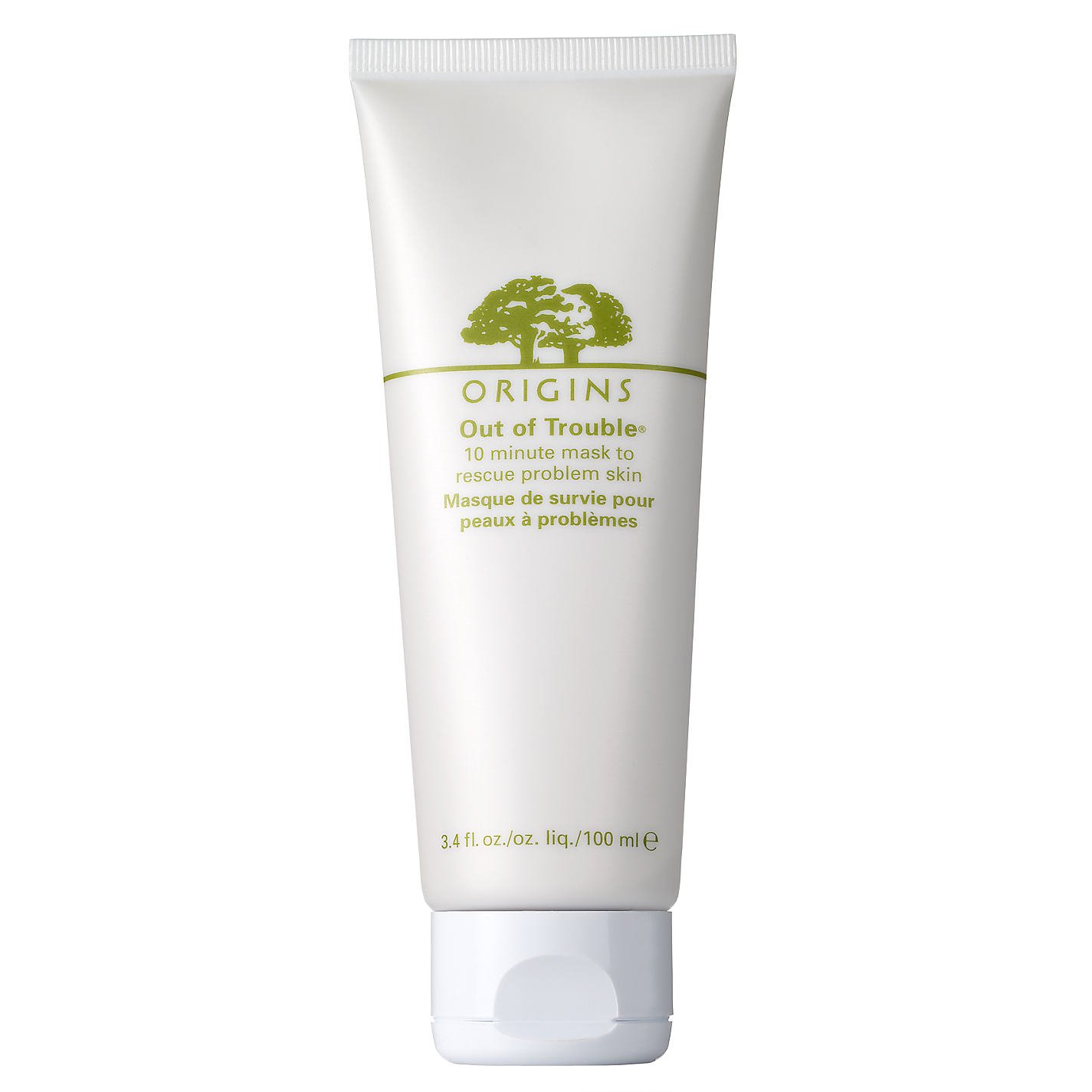Out of Trouble 10 Minute Mask To Rescue Problem Skin 100ml/3.4oz Origins 079818308011