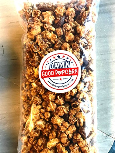 Damn Good Popcorn's Gourmet Caramel Pecan Popcorn 8 oz