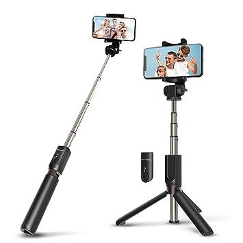 c853e27e67cc9d Wireless Selfie Stick Tripod with Remote for iphoneX 6 6s 7 8 plus Android  Samsung Galaxy ...