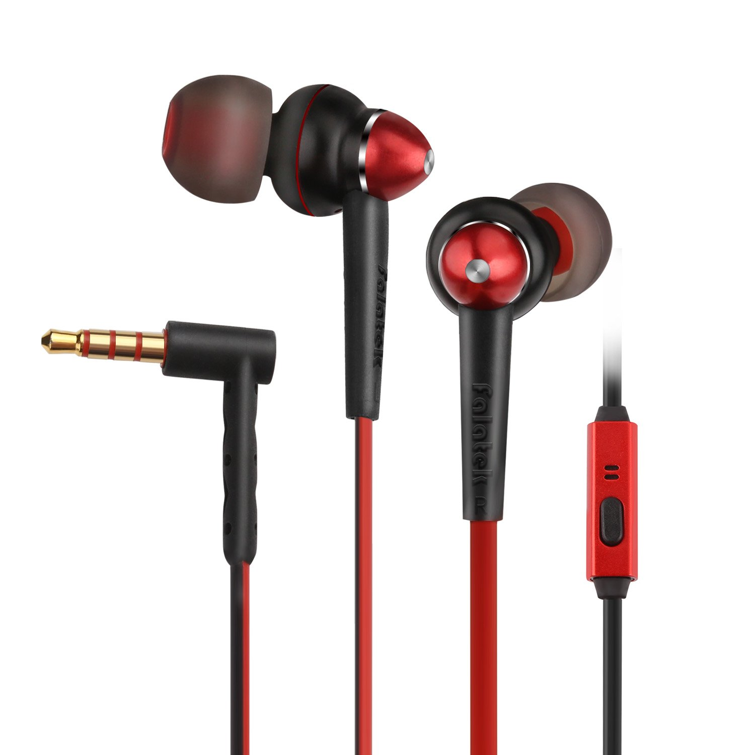 Falatek In-Ear Earphone With Mic And Noise Isolation And