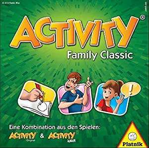 Piatnik 9001890605079 - Activity Family Classic Brettspiel