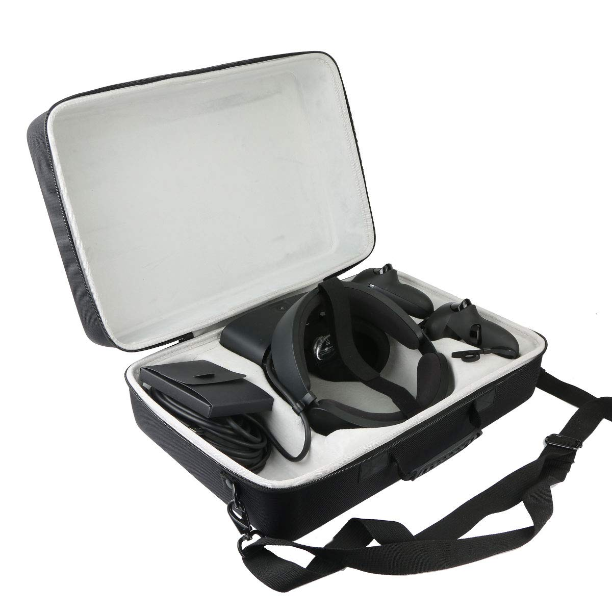 Khanka Hard Travel Case Replacement for Oculus Rift S PC-Powered VR Gaming Headset by khanka