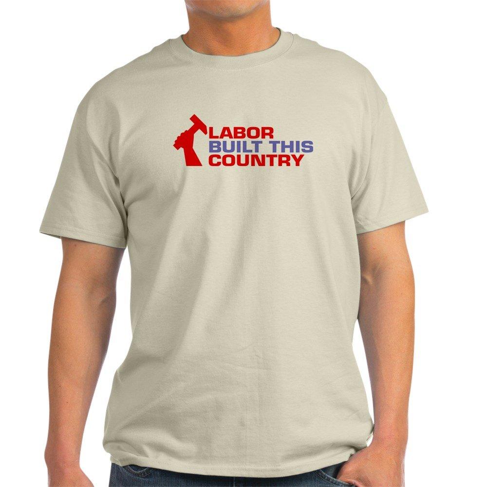 637ffc966ba118 Amazon.com: CafePress labor built union Light T-Shirt Cotton T-Shirt:  Clothing