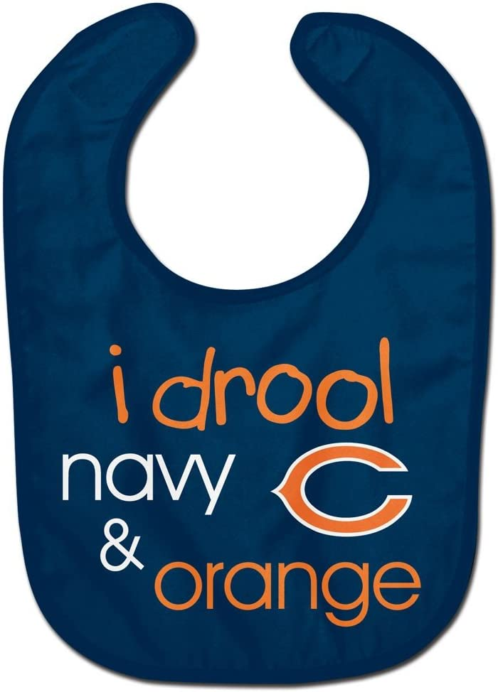 WinCraft NFL Chicago Bears WCRA1961514 All Pro Baby Bib